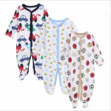 2017 lindo bebé infantil ropa de algodón de dibujos animados bebé mameluco 3 unids conjunto bebé recién nacido mono invierno vistiendo