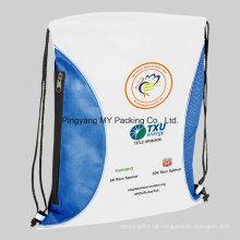Wiederverwendete dauerhafte gedruckte pp. Nichtgewebte Tasche für Sport