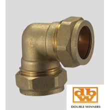 Brass Compression Fitting Elbow CxC