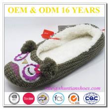 Atacado de inverno sapatos de interior para as mulheres
