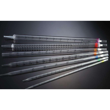 Disposbale Plastic Serological Pipettes dengan filter