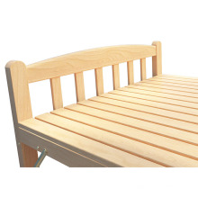 Bedroom furniture solid wooden folding extra bed easy to use guest cot