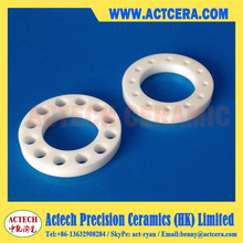 Precision Zirconia Ceramic Ring/Sleeve/Bushing Machining