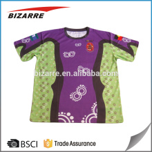 custom sublimation printed t-shirts