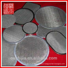 High-quality stainless steel Wrapped Edge Filter Disc