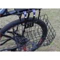 Edelstahldraht Schwarz Fahrradkorb