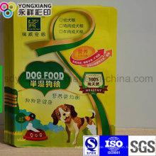 Laminierte 3-seitige Siegelverpackung Tierfutterbeutel