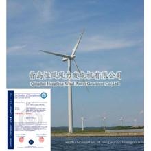 Gerador de turbina de vento de 100kw de venda quente, saída tensão 380V/400V/220V/230V etc.