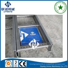 Máquina de fabricação de bandeja de cabo tipo escada