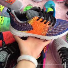 Flyknit Student Woven Sports Sneaker Footwear Women Shoe
