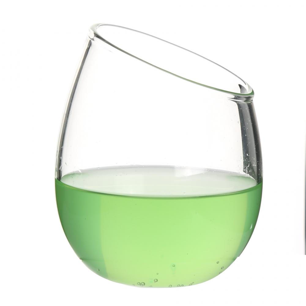 Single Wall Thermo Glass Cup For Green Tea