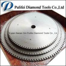 1000mm 2000mm 3000mm Big Diamond a vu la lame vierge pour la grande lame de scie circulaire de diamant