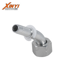 22641 BSP female 60 cone seat 45 degree elbow bsp pipe fittings for pipe galvanized steel hose fittings