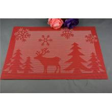 Factory Direct Sales All Kinds of Plastic Christmas PVC Woven Mat
