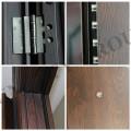 Puerta de acero puerta de puerta de seguridad puerta de metal (sc-s146)