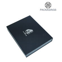 Custom foam box inserts black packaging box printing