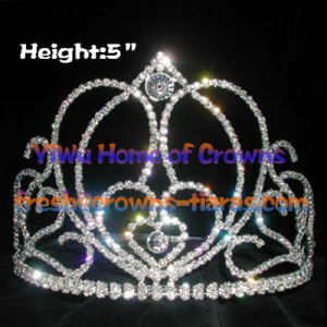 Unique Pageant Crowns In Heart Shaped