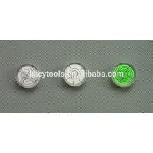 Mini nível de bolha redonda de 32x7mm