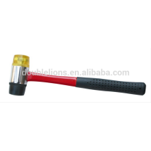 Martillo de cara suave mango fibra vidrio, herramientas de mano