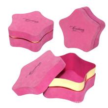 Printing Logo Lip Top Star Shape Gift Box
