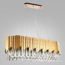 Modern gold luxury round ceiling light chandelier lighting decorative home chandeliers pendant lights