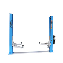 two post hydraulic car lift with 4 tons lifting capacity