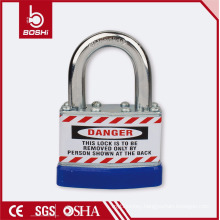 BOSHI OEM Safety Padlock Anti-Rust Corrosion Laminated Padlock BD-J46