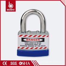 BOSHI OEM cadeado de segurança cadeado laminado anti corrosão com moldura BD-J46