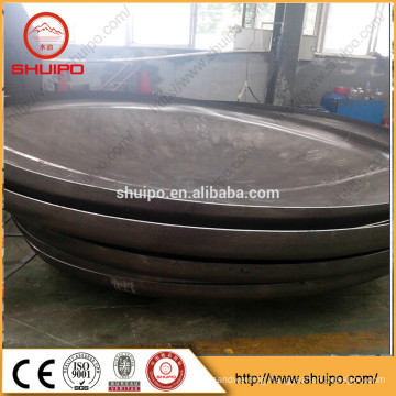 low price Stainless Steel carbon steel aluminum material tank ends