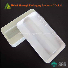 White Thermoforming Plastic Medication Tray