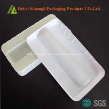 Bandeja de medicação de plástico termoformagem branca