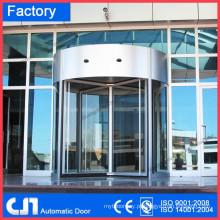 3 portas de luxo portas giratórias automáticas