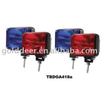 12V Strobe Xenon Light Police Motorcycle Xenon Warning Lights(TBDGA418a)