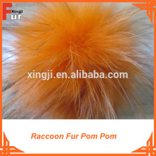 New Arrival ! Raccoon Fur Pom Pom