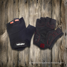 Glove-Working Glove-Safety Glove-Half Finger Glove-Weight Lifting Glove-Anti Vibration Glove