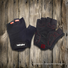 Glove-Working Glove-Safety Glove-Half Finger Glove-Weight Lifting Glove-Anti Vibration Glove