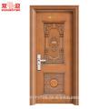 Цена завода входных дверей главная дверные конструкции стальные двери наружные Китай продукты