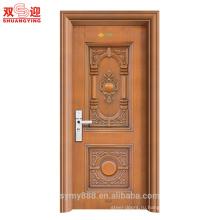 Горячая продажа Анти-кражи двери входные двери сталь индийские главная дверь дизайн