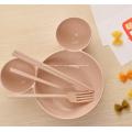 Talheres de 4 peças para crianças de Mickey Mouse
