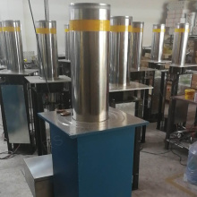 Access Control 304 Stainless steel Rising Hydraulic Bollards