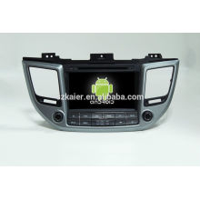 HOT!car dvd with mirror link/DVR/TPMS/OBD2 for 8 inch touch screen quad core 4.4 Android system Hyundai IX35