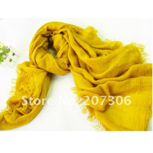plain pashmina shawl with tassels