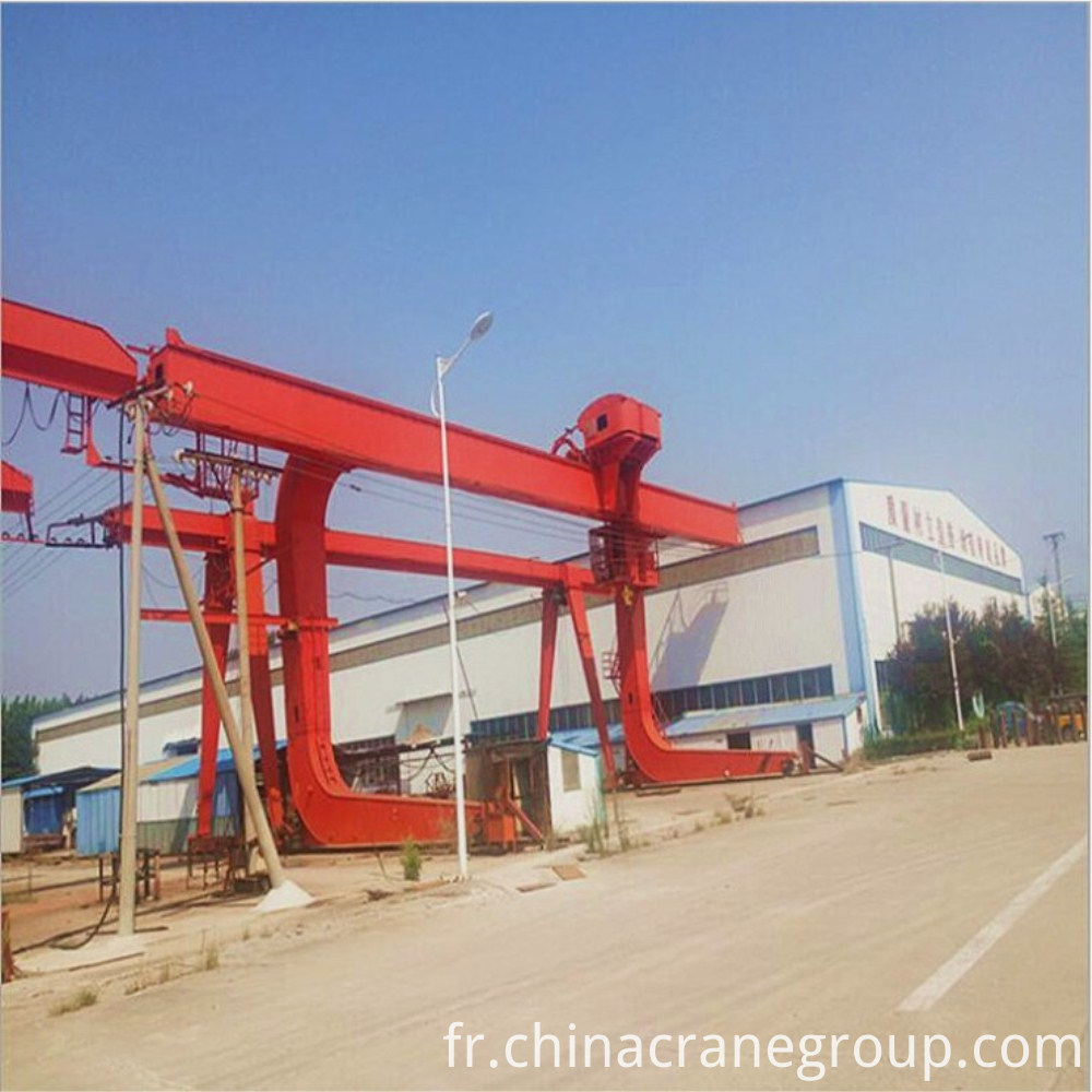 20T capacity L type gantry crane
