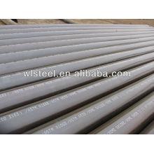 Astm a53 / a106 gr.b ciment doublé de tuyaux en acier au carbone sans soudure