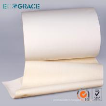 Ciment Plant Air Slide Canvas Fabric Convoyeur de ceinture
