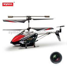Syma S107C mini rc helicopter camera Metal palm aircraft