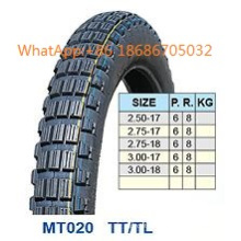High Proformance Motorcycle Tire 2.50-17 2.75-17 2.75-18 3.00-17 3.00-18