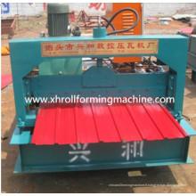 Petit pain de plaque d'acier coloré formant la machine