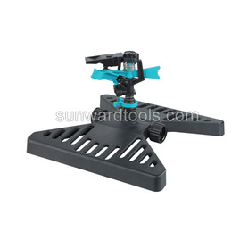 Plastic Impulse Sprinkler on butterfly sled base