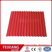 galvanized steel corrugated roll forming machine